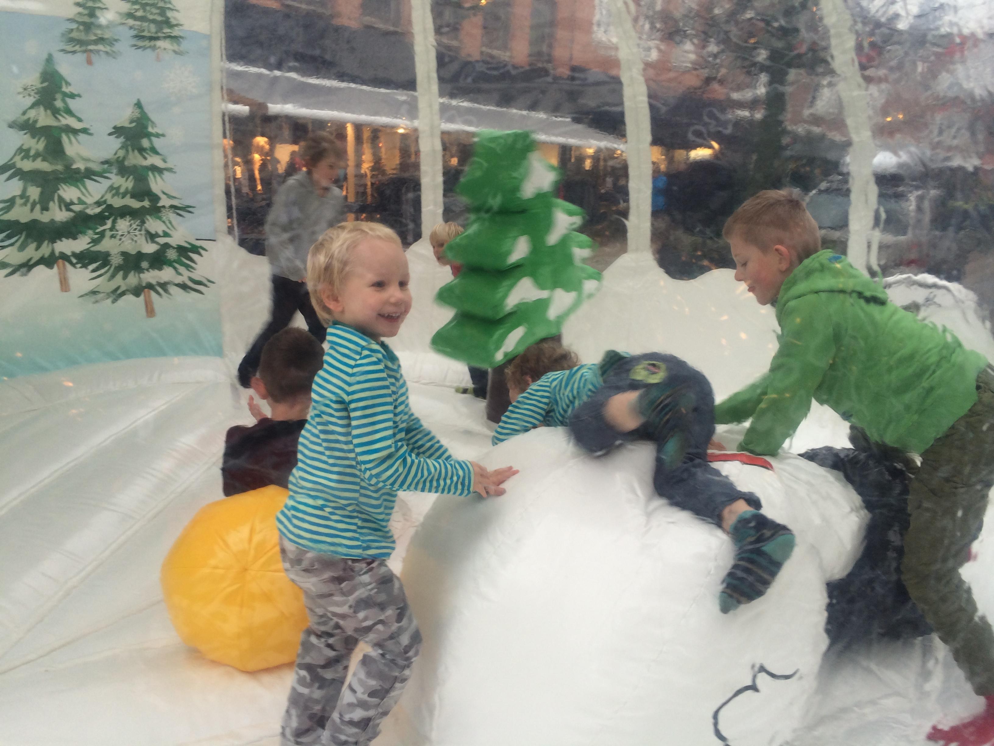 Sjov for børn, snemand, jul