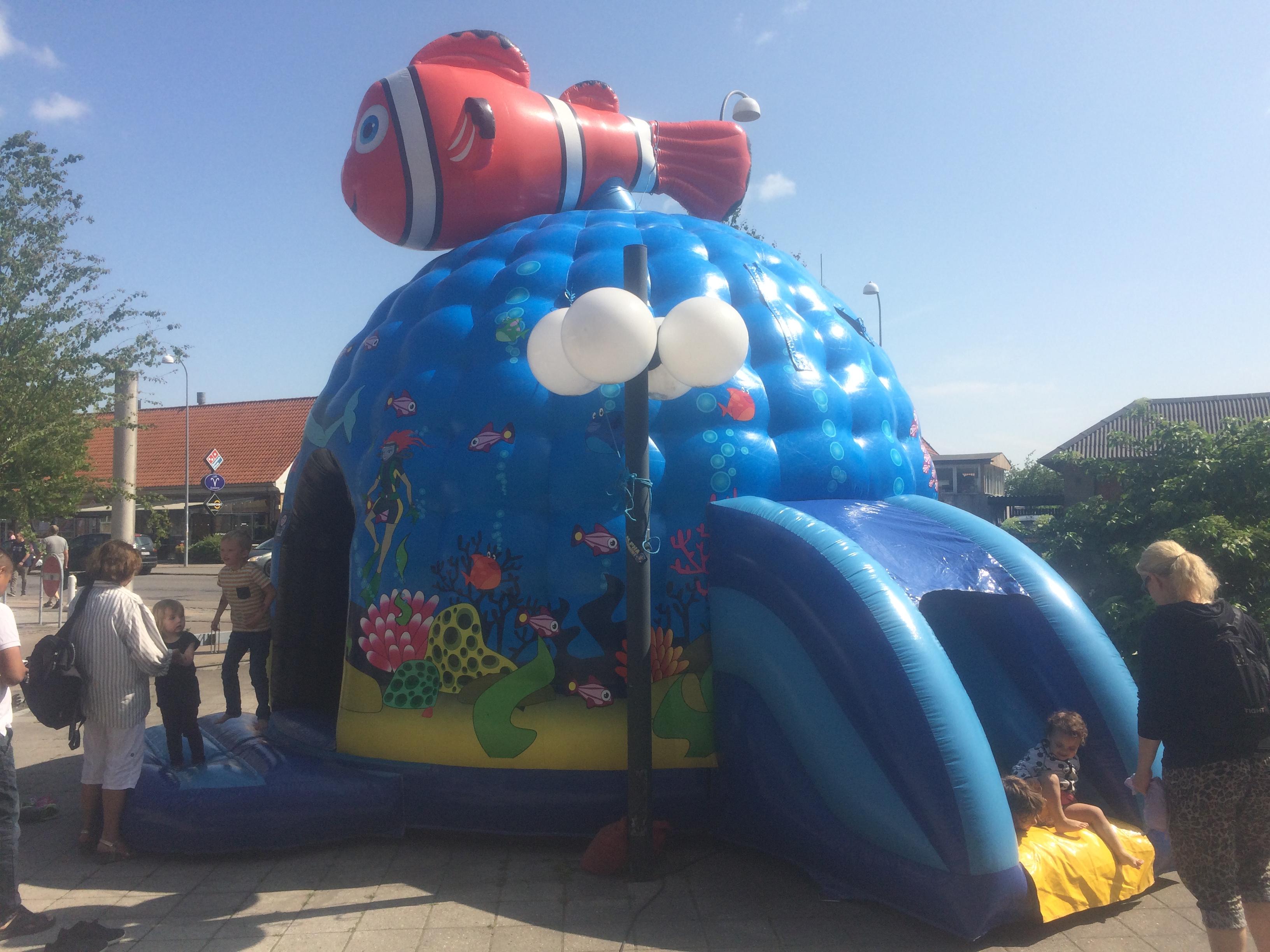Hoppeborg, sjov for børn