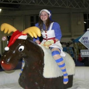 Jul, fest, nisse, Rudolf rodeo